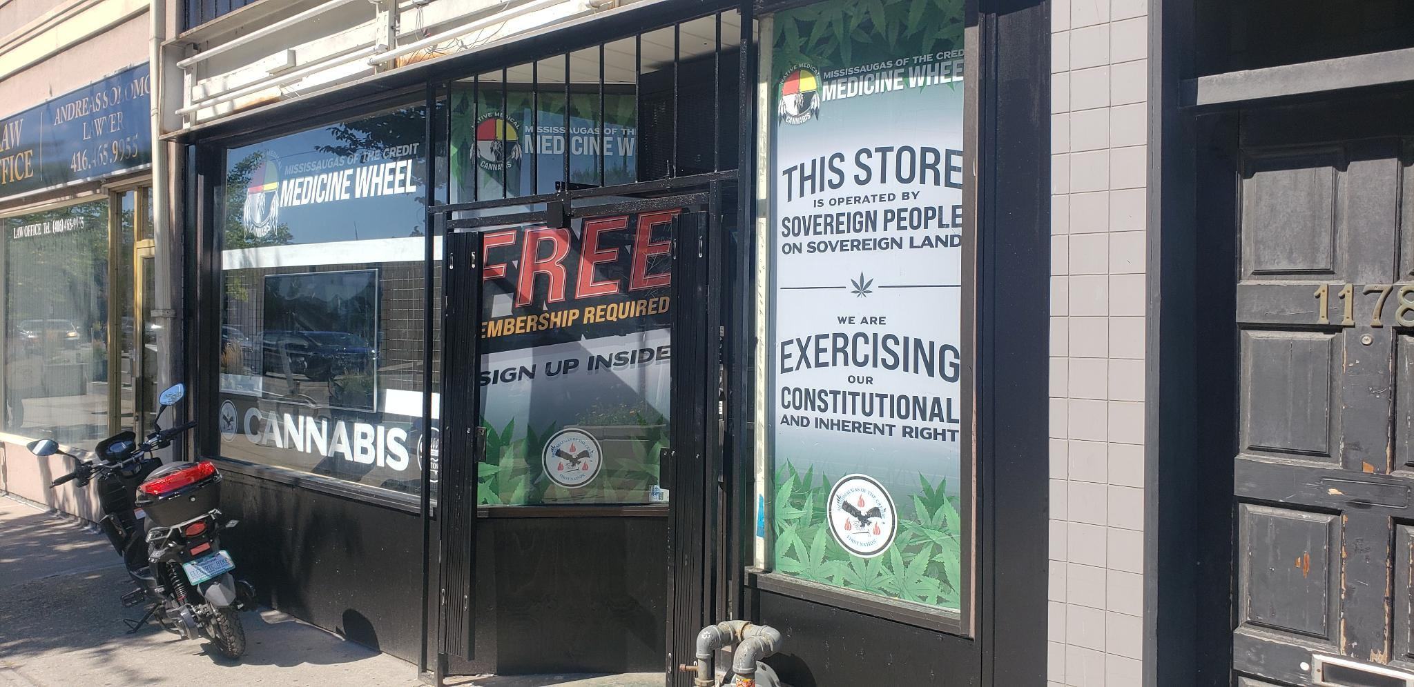 Medicine Wheel indigenous cannabis dispensary. (image credit: Dispensing Freedom)